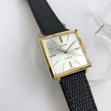 Elegant dress watch square shaped