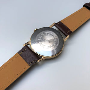Stainless steel Timex case back