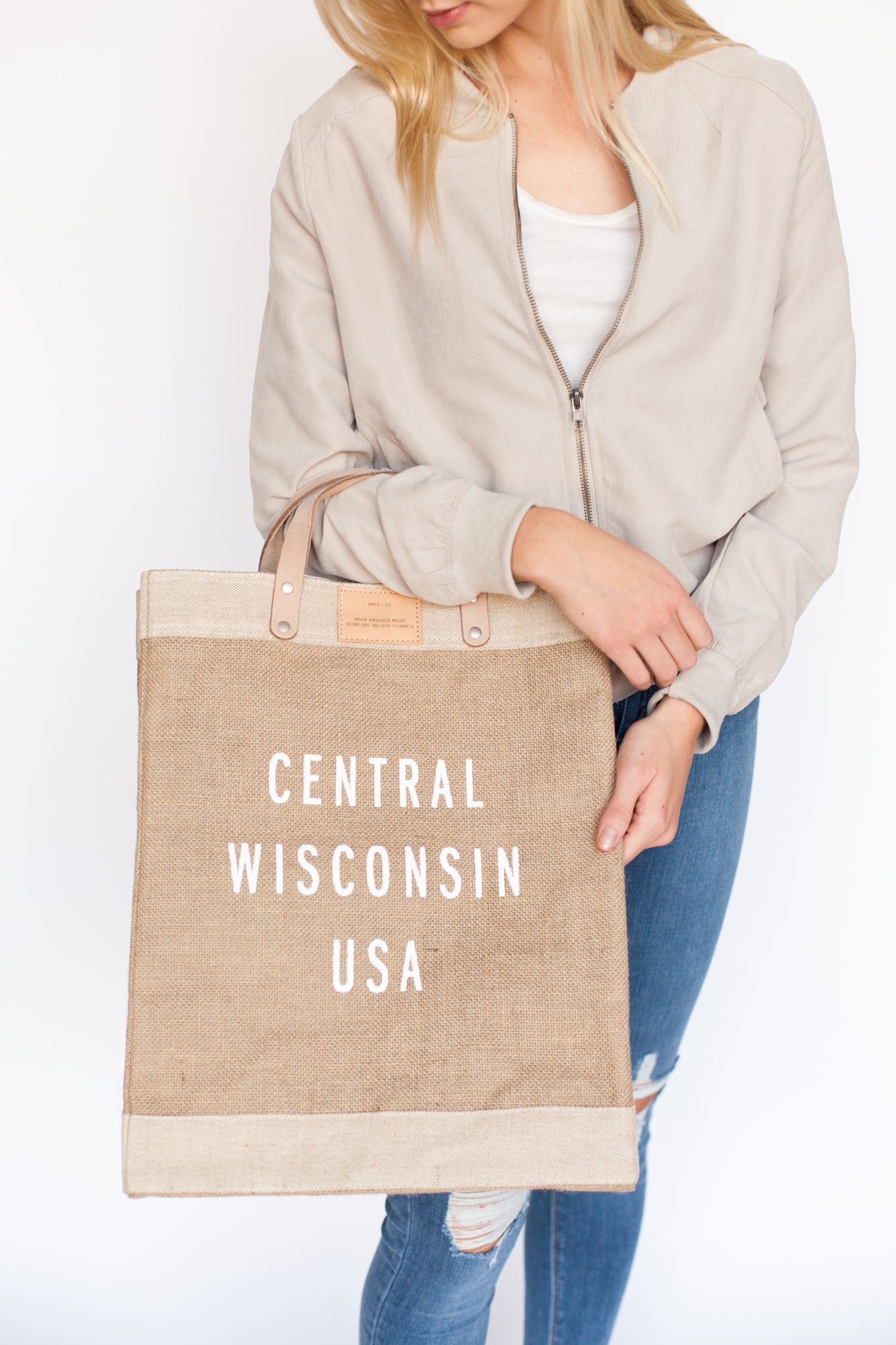 Central Wisconsin Market Tote