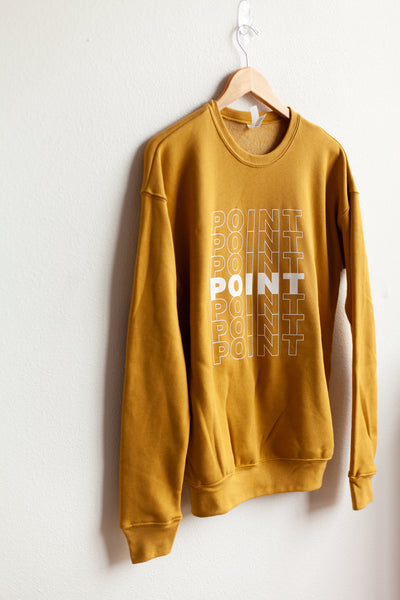 Seven Point Sweatshirt - Mustard