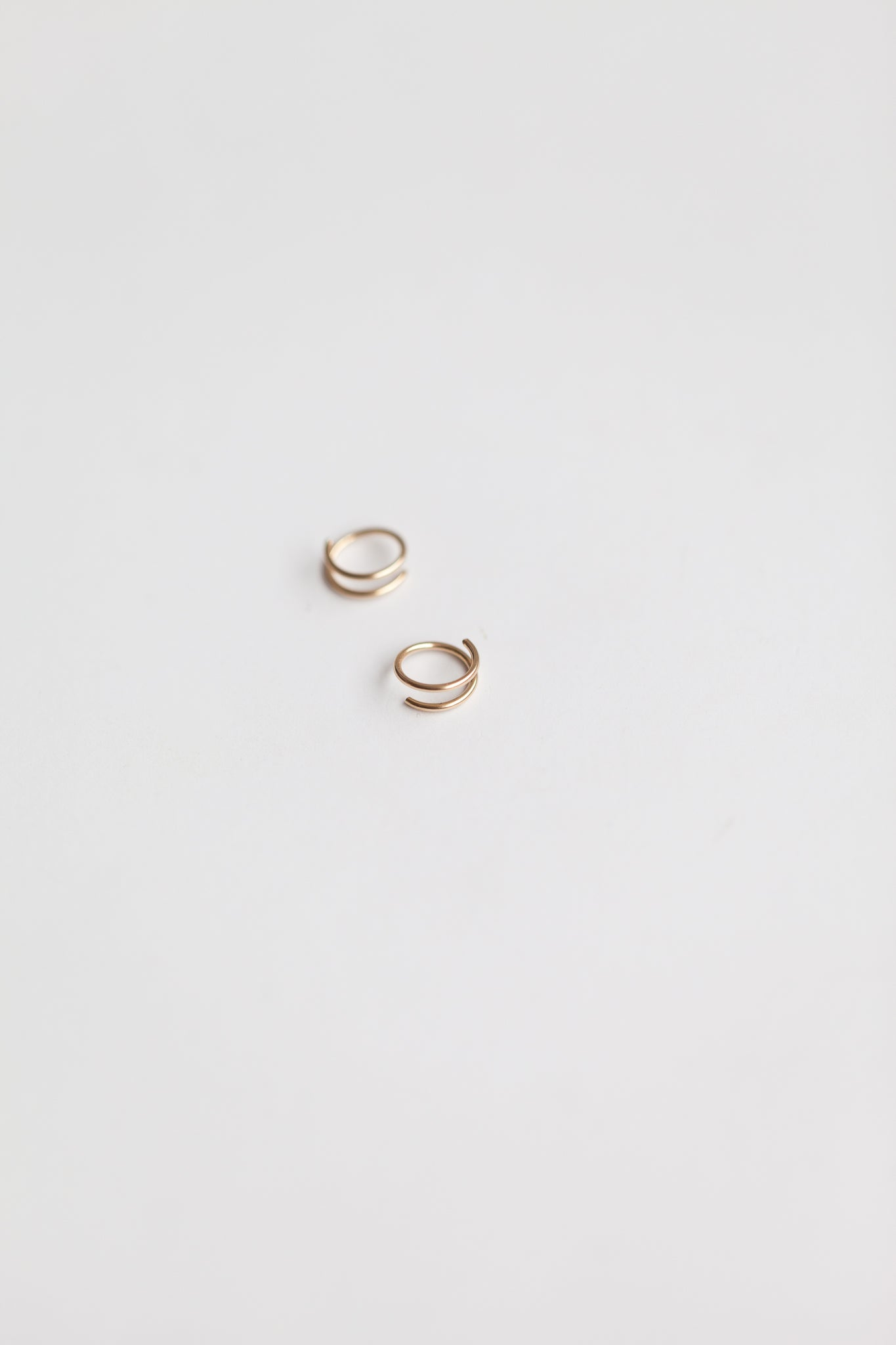 Tiny Twist Earrings 14k Gold Fill