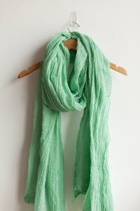 Cotton Giant Scarf - Jade (FINAL SALE)