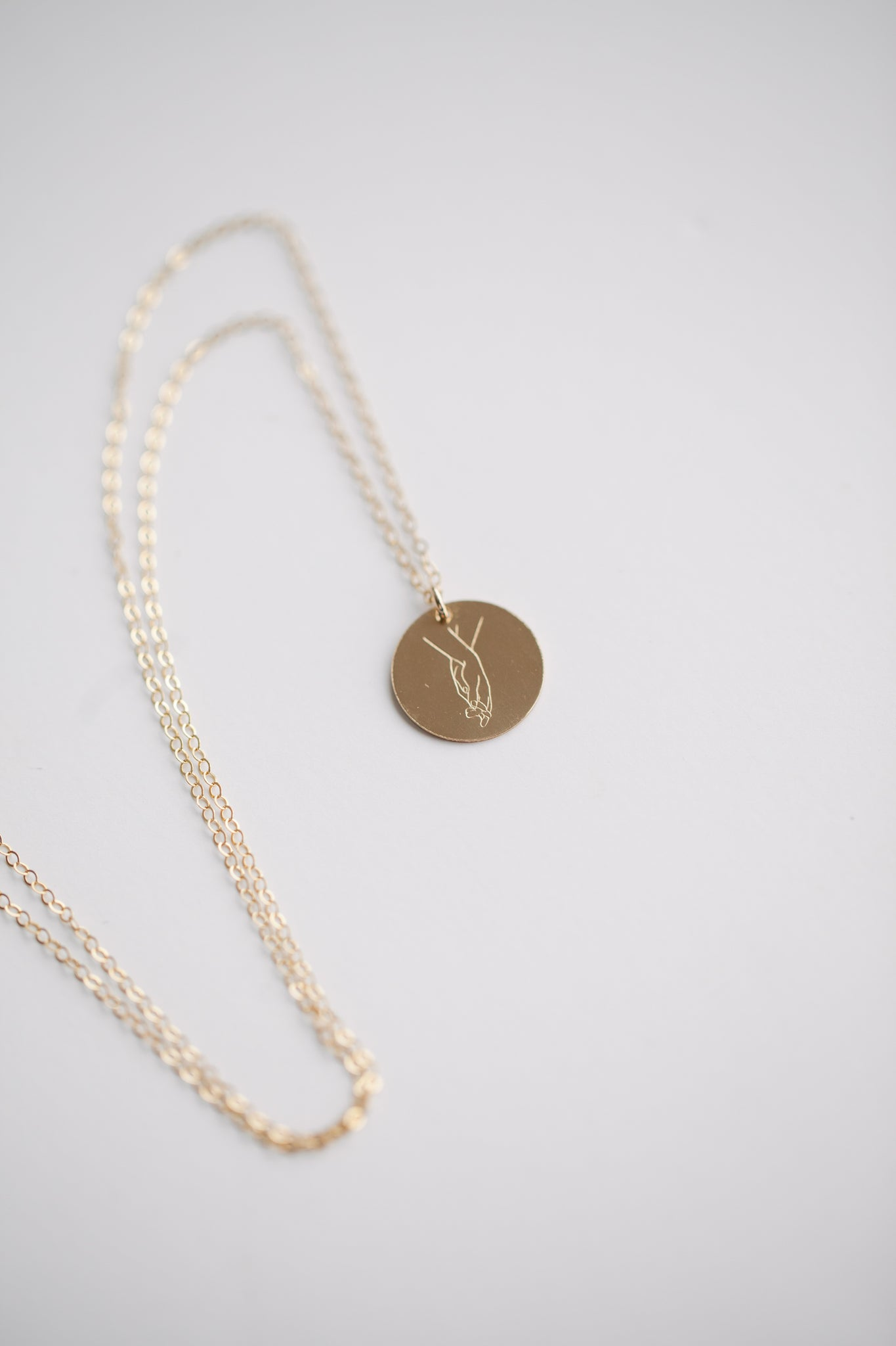Entwined Necklace - 14k Gold Fill