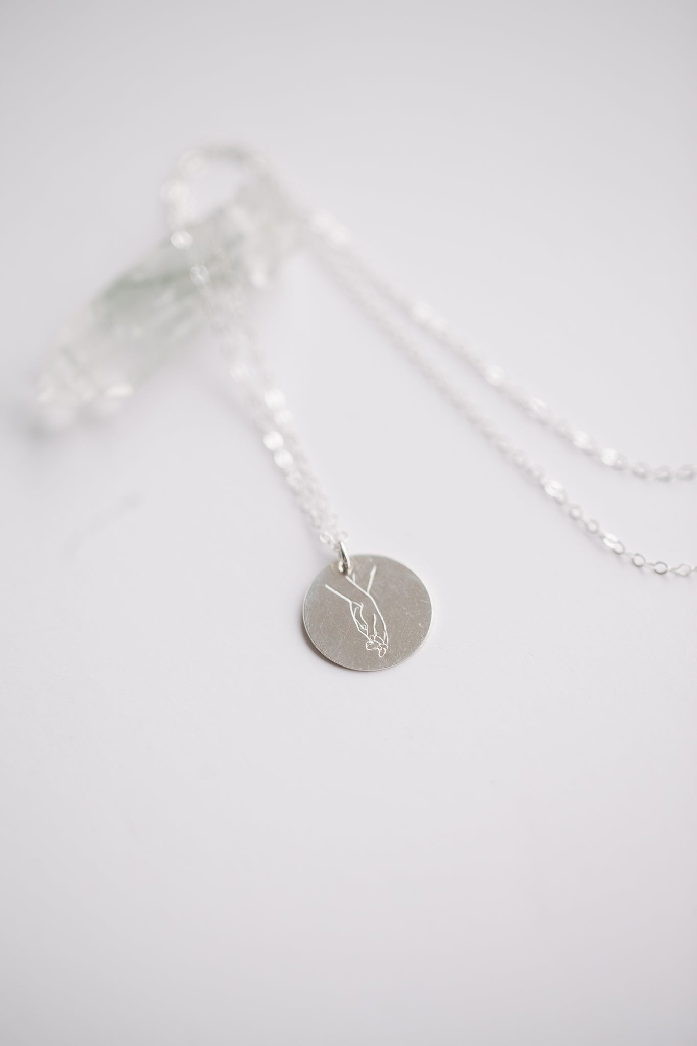 Entwined Necklace - Sterling Silver