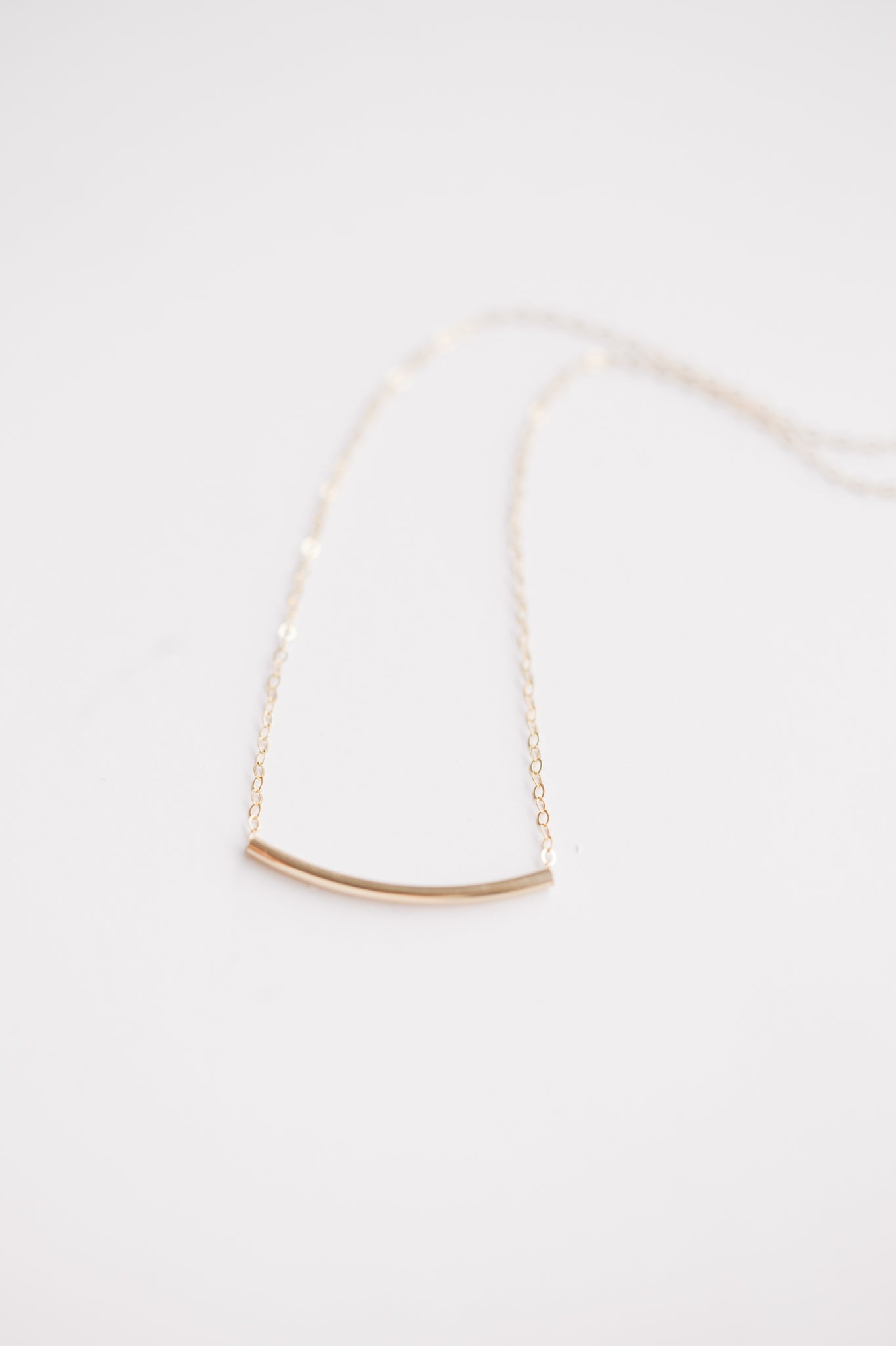 Noodle Necklace - 14k Gold Fill