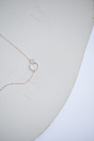 Tiny Links Necklace - Sterling Silver