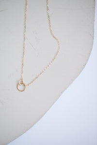 Tiny Links Necklace - 14k Gold Fill