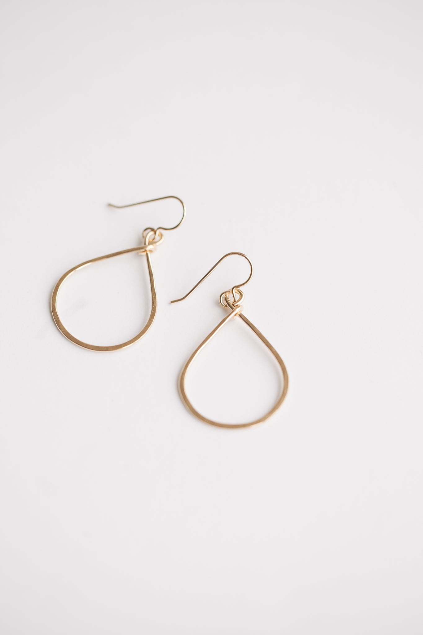 Petite Essential Hoops - Gold Fill