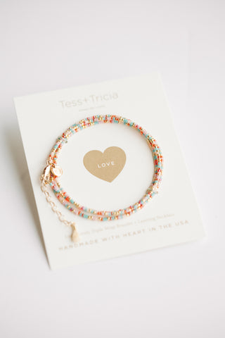 Little Lovelies - Love/ Multi + Gold