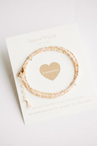 Little Lovelies - Blush Pink/ Gold
