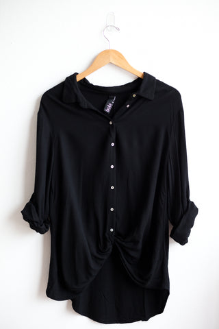 Twisted Button Up Shirt