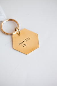 Nailed It Keychain