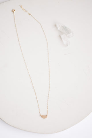 Sunrise Necklace - Gold Fill