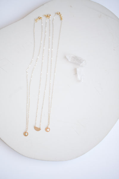 Small Wonders Necklace - Pearl