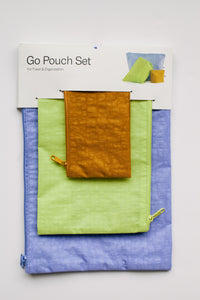 Go Pouch Set - Zuma (FINAL SALE)