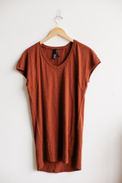 Dolman Slit Tunic - Copper