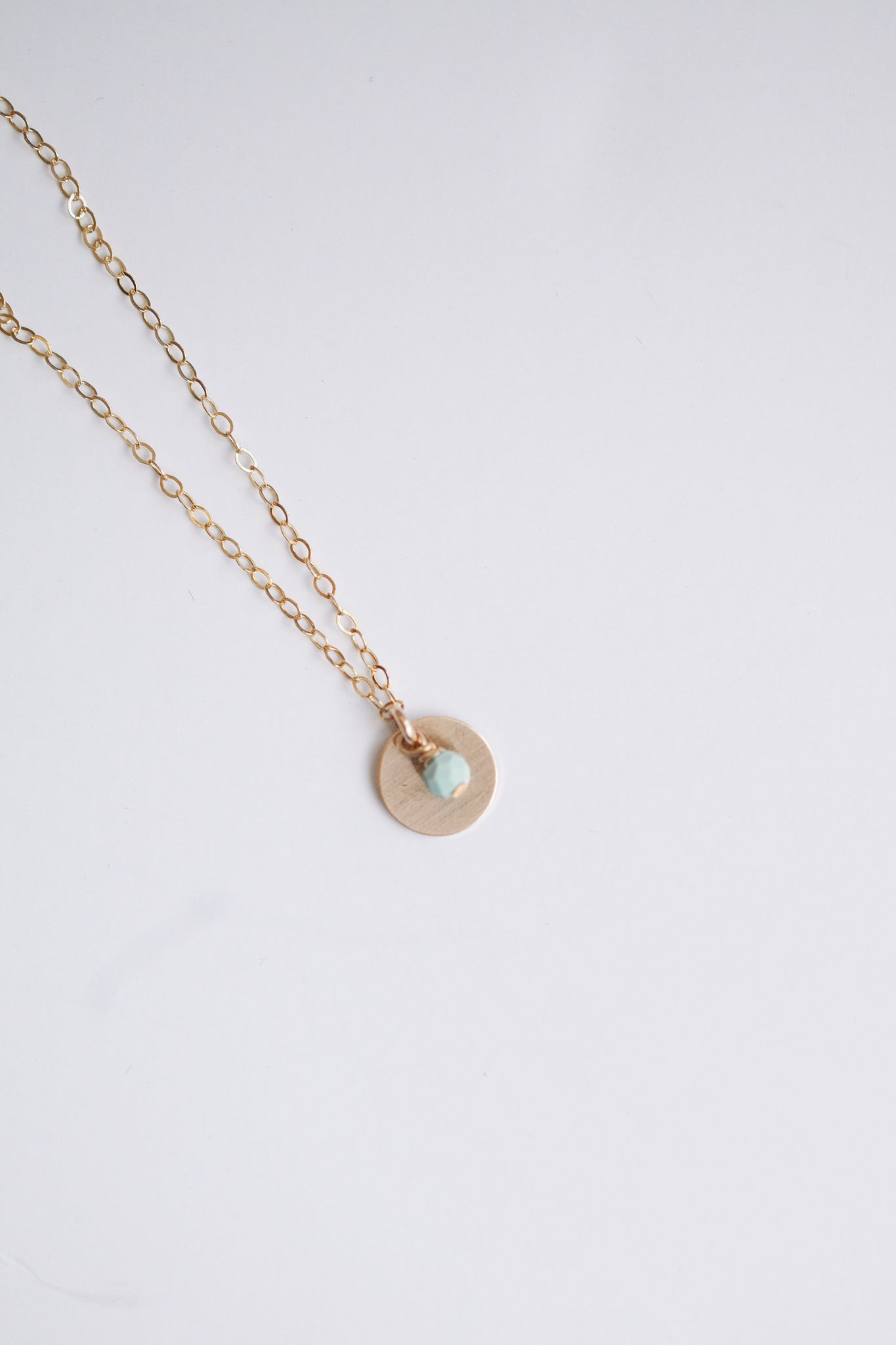 Small Wonders Necklace - Turquoise