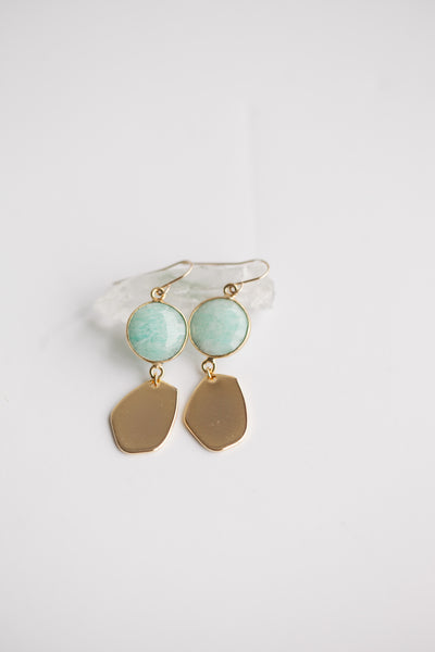 Charmer Earring - Amazonite