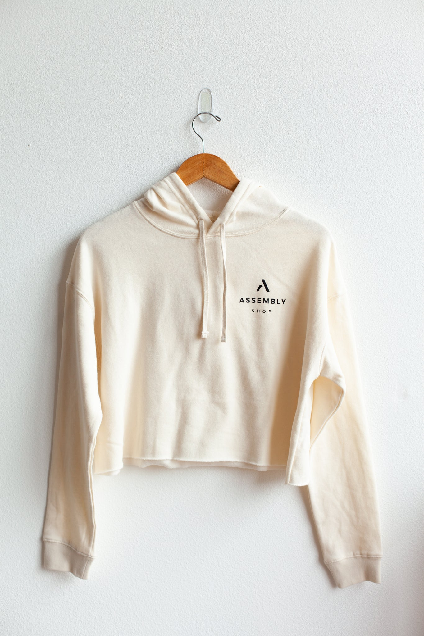 Assembly Crop Hooded Sweatshirt