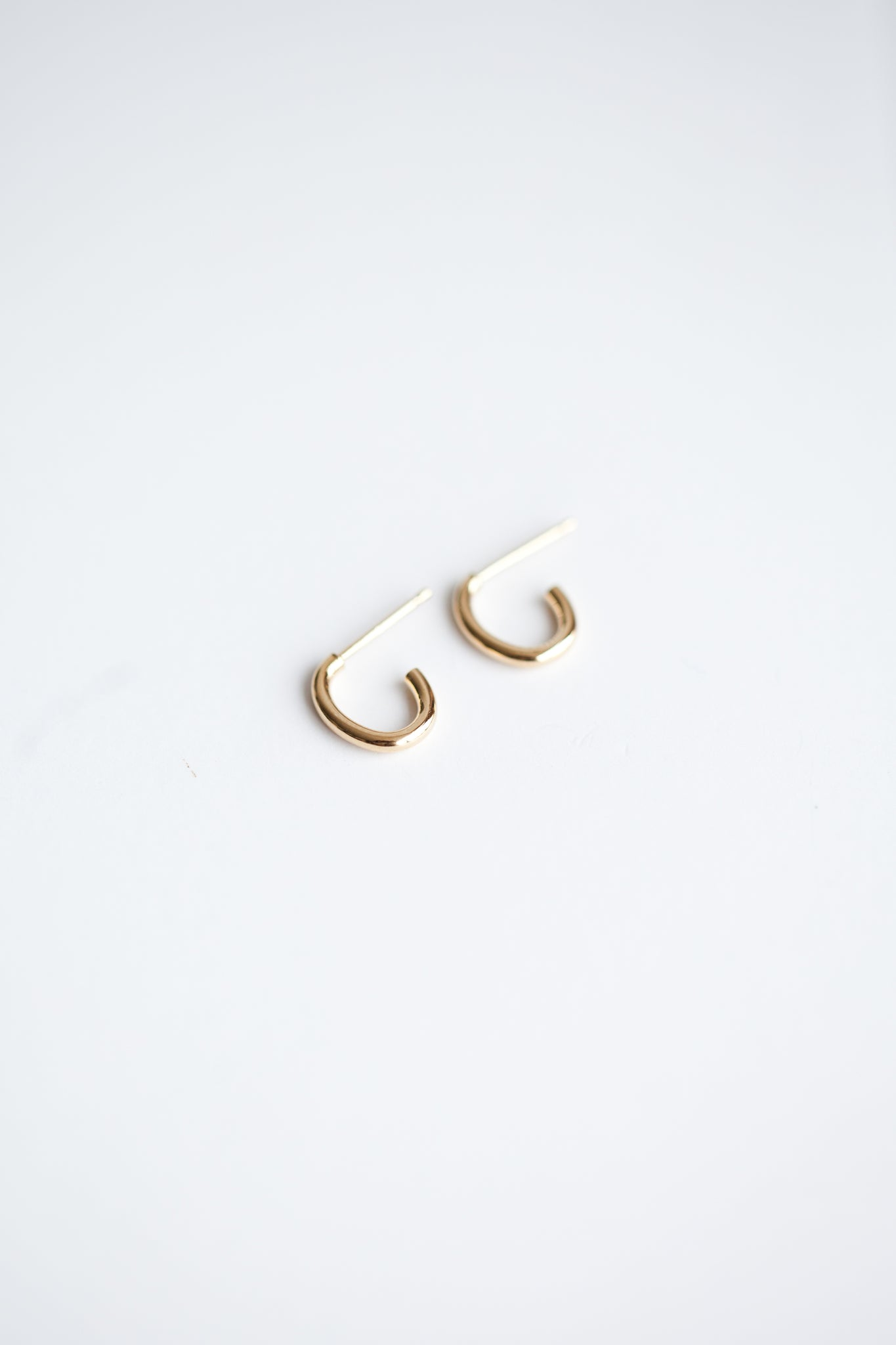 Oval Hugger Earrings