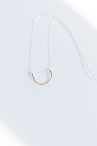 Horizon Necklace - Sterling Silver