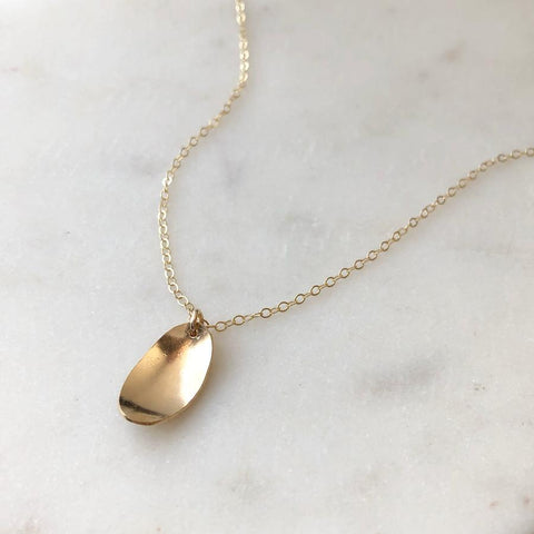 Pooled Light Necklace