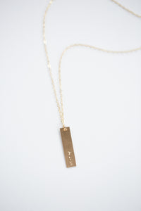715 Necklace - Gold