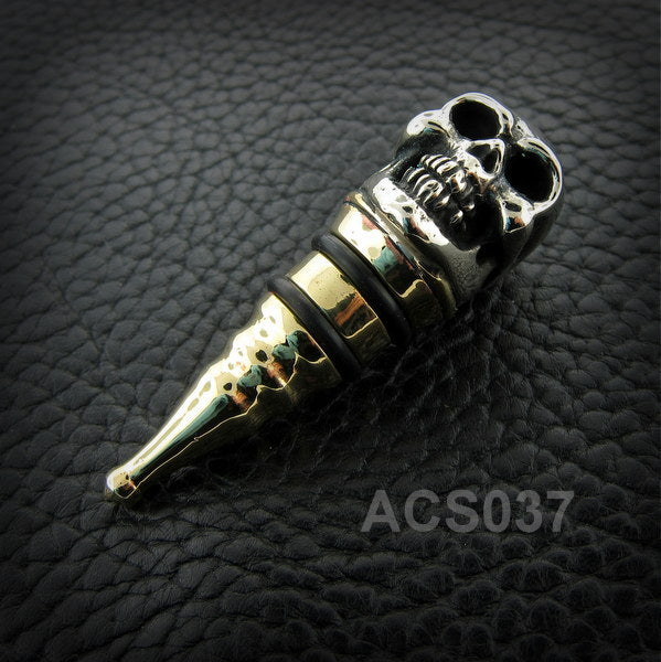 Skull Wine Stopper ACS037