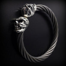 Chomps Skull Cable Bangle