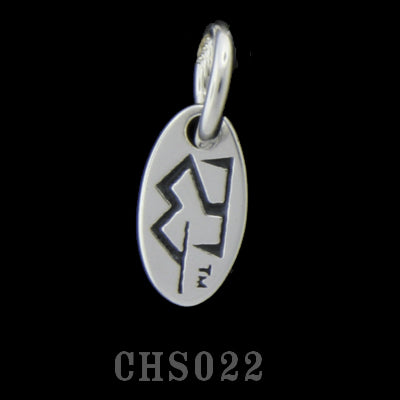 Small Oval Logo Charm