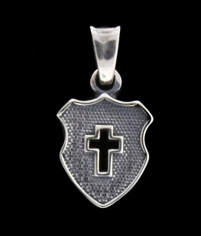 Saints Shield Charm