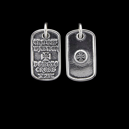 Malibu Cross Dog Tag