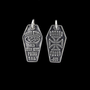 Coffin Dog Tag