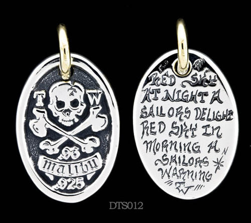 Pirate Dog Tag