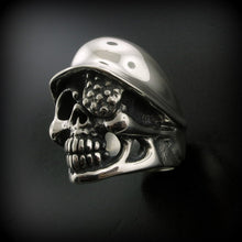 Helmet Warrior Ring