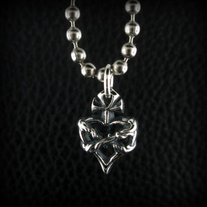 Mini Sacred Heart Charm