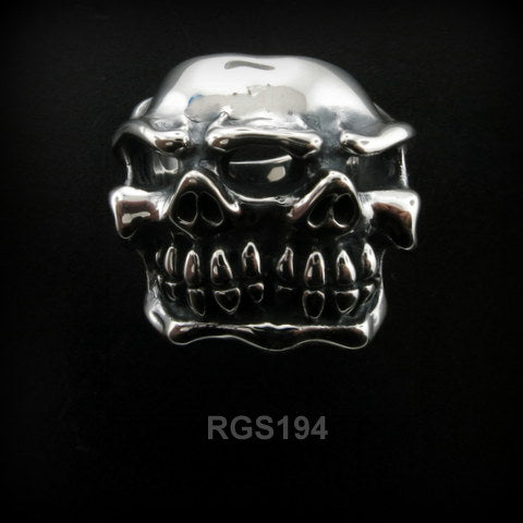 Mutant Chomps Skull Ring