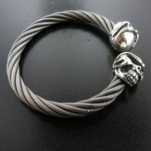 Speed Skull Cable Bangle