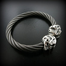 Lil'G Skull Cable Bangle