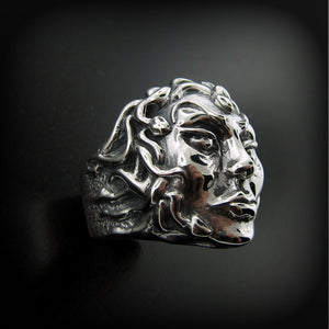 Medusa Face Ring RGS138