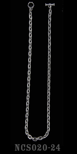 24 inch Oval Link Chain Necklace