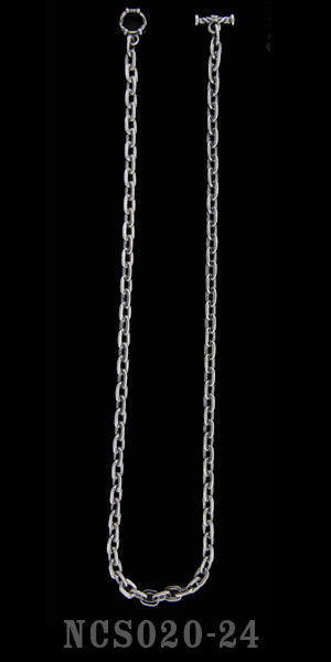 16 inch Oval Link Chain Necklace