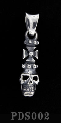 Cross Skull Pendant