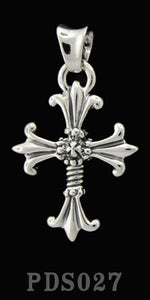 Double Cross Pendant