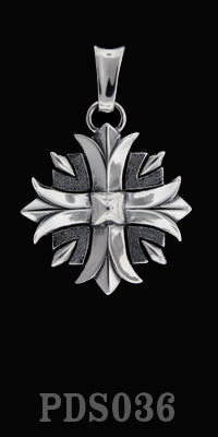 Large Valor Cross Pendant