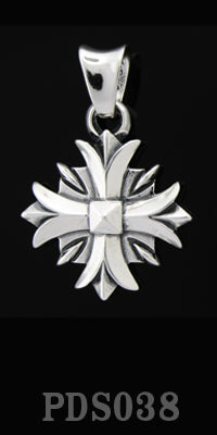 Valor Cross Pendant