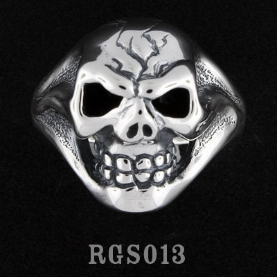 Ghost Skull Ring RGS013