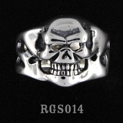 Mini Skull Ring RGS014