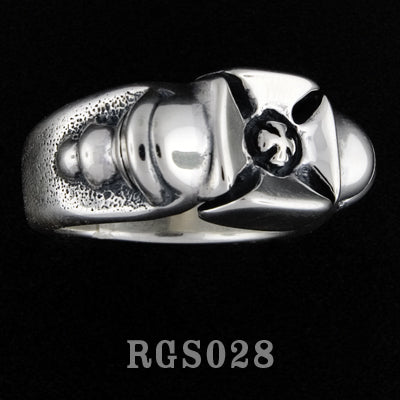 Block Cross Ring RGS028