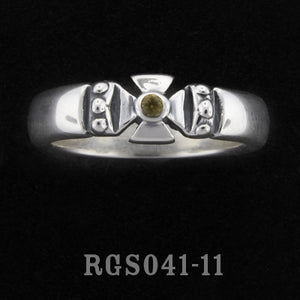Single Formee Ring with Topaz RGS041-11